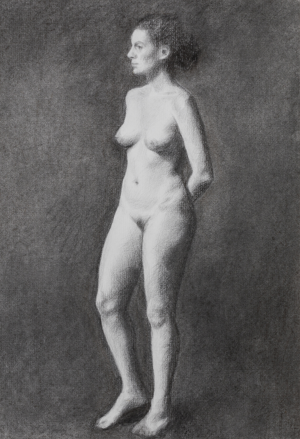 Standing Charcoal.
